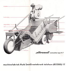 Allround Harvest machine
